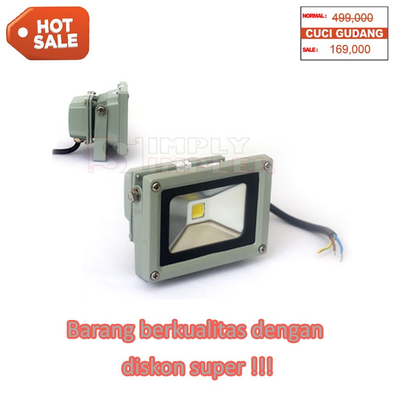 Hiled Floodlight 10W White