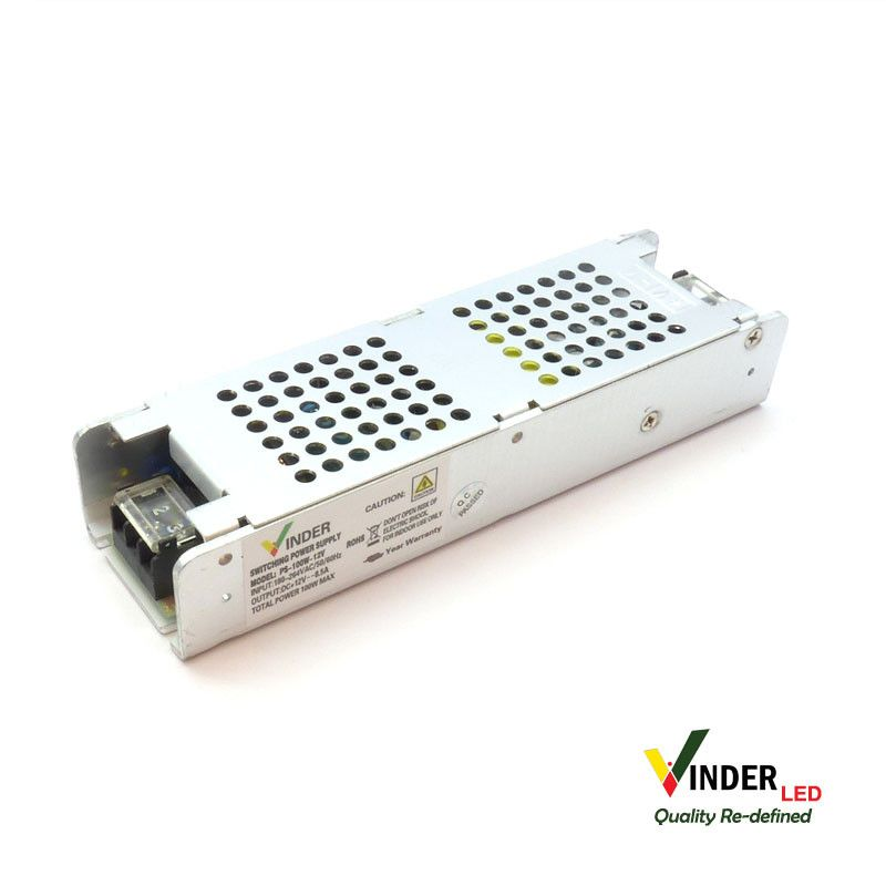 Vinder Switching Power Supply 12V DC 8,3A - High Quality