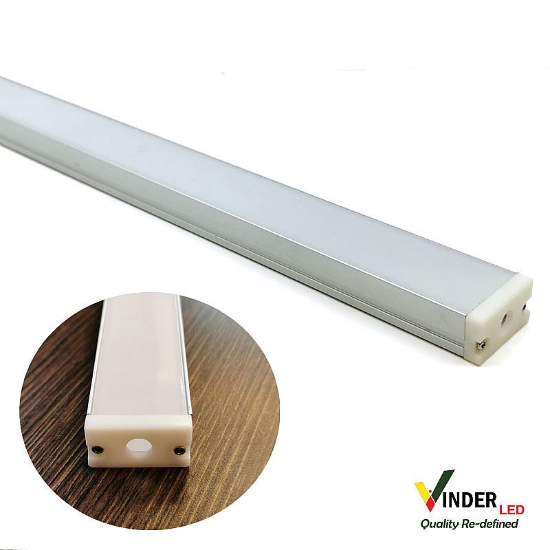 Housing Led Strip/ Led Bar model outbow Large Size with doff cover