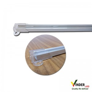 Housing Led Strip/ Led Bar with clear cover (flat type)