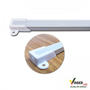 Housing Led Strip/ Led Bar with doff cover (flat type)