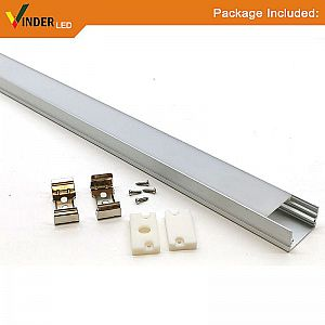 Alumunium Housing Led Strip/ Led Bar model outbow Large Size with doff cover