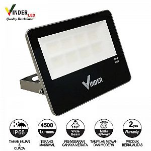 Vinder Led Floodlight 50W - Mini Series